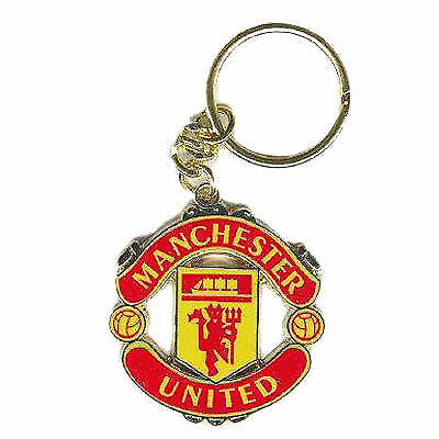 Man Utd Mufc Football Club Metal Pin Badge Crest Red Devil