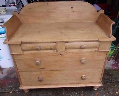 Pine wash stand chest of draws
