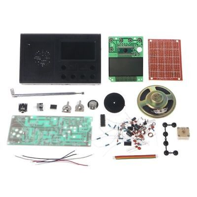 DIY LCD FM Radio Electronic Educational Learning Kit Frequency Range 72-108.6MHz