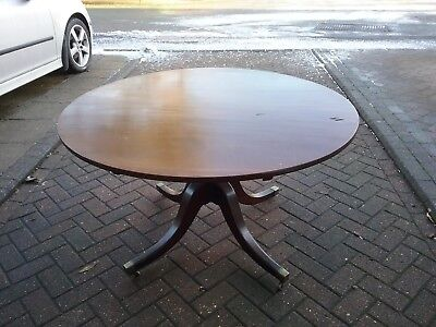 Antique round dinning table.