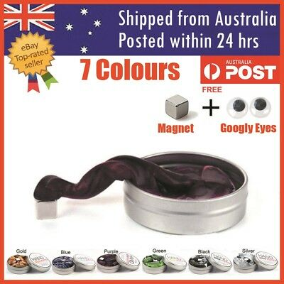 Magnetic Putty Slime Thinking Putty Strong Magnet Putty Silly Therapy Stress Toy