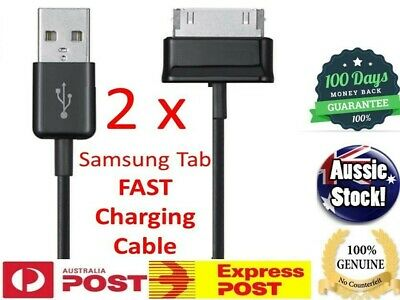 2x OZ GENUINE Samsung Galaxy Tab 2 7.0 10.1 Inch Tablet USB Data Sync Charger
