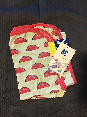 NWT KicKee Pants NEW Watermelon Swaddle Blanket