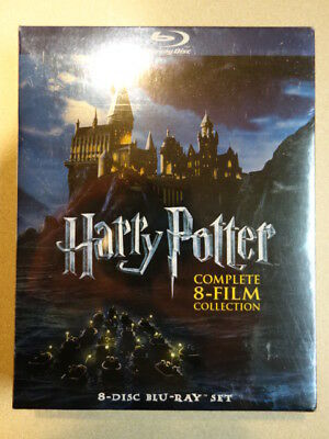 *BRAND NEW* Harry Potter Complete 8 Film Collection Blu-ray movie boxset box set