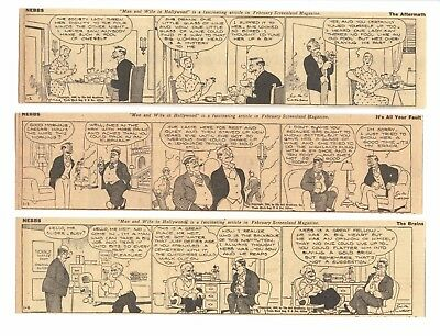 NEBBS (1935) - 290 Daily Comics - by SOL HESS and WALLACE CARLSON