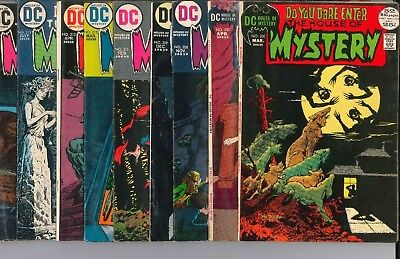 HOUSE OF MYSTERY Bronze LOT OF 19 WRIGHTSON+ADAMS issues from 200-229