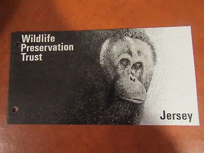 1979 Wildlife Preservation Trust Presentation Pack From Jersey