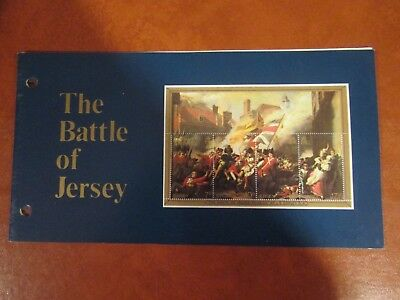 1981 The Battle Of Jersey Presentation Pack From Jersey