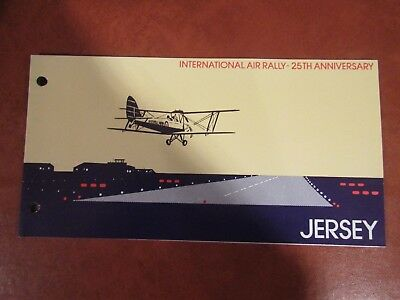 1977 International Air Rally Presentation Pack From Jersey