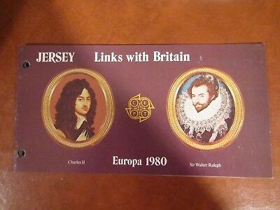 1982 Links With Britain Presentation Pack From Jersey