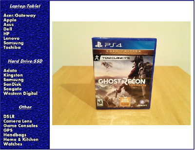 Tom Clancy's Ghost Recon: Wildlands Gold Edition PS4 PlayStation 4, New, Sealed