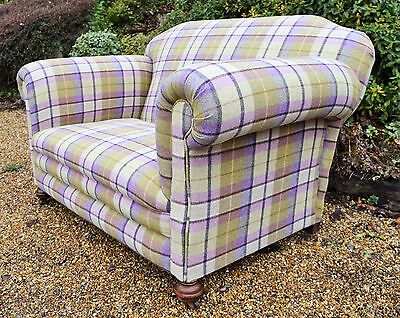 Refurbished Victorian Chesterfield Sofa in your choice of 100% Wool Moon Fabric!