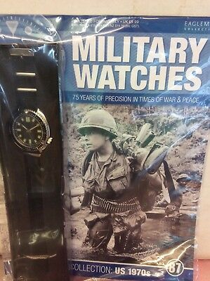 New Eaglemoss Military Watches magazine issue 87 American soldier