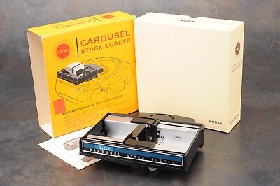 :LNIB Kodak Carousel Slide Stack Loader Model B40 - For 2x2 Slides
