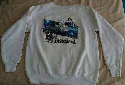 VERY RARE Disneyland STAR TOURS Sweater! (1986) Original & VINTAGE!