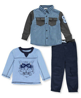 Nannette Little Boys' Toddler 3-Piece Outfit (Sizes 2T - 4T)