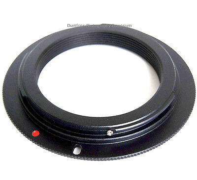 Quality M42 Lens to CANON EOS Camera Mount Adapter (non-flanged type)
