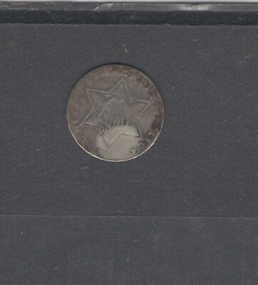 Coins  Us  Silver Three Cent 1958