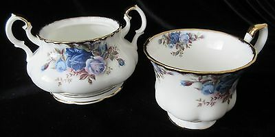 Vintage Royal Albert 'moonlight Rose' Cup Only & Sugar Bowl (No Lid)Replacements