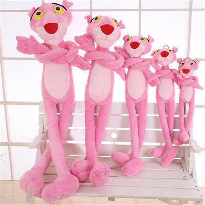 "Pink Panther Finger Plush Toy Stuffed Animal Doll 63"" Tall Cute Soft Animal Gift"