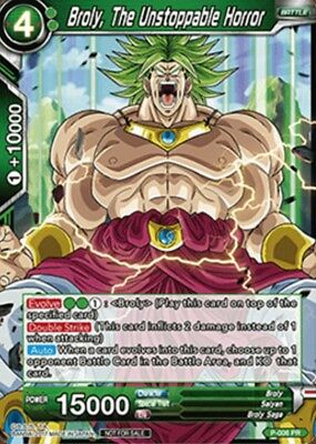 P-006 - Broly the Unstoppable Horror -NON FOIL PROMO Dragon Ball Super Card Game
