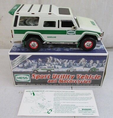 40th Anniversary 2004 Hess Sport Utility Vehicle and Motorcycles