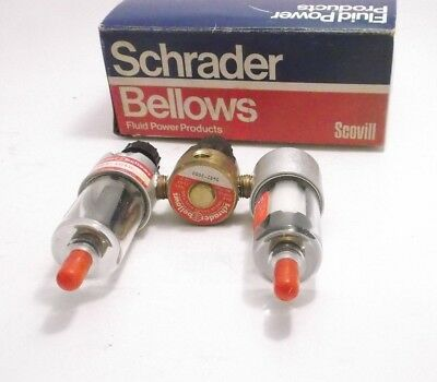 "Schrader 5432-1320 Mini Lub-Air-Ator Filter Regulator Lubricator (1/4"")"