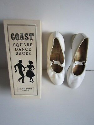 Pair Of Vintage Women's Well-Worn Square Dance Shoes
