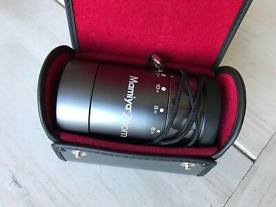 Mamiya 12x Zoom Film + Print Loupe in original case with lens cap Mint Condition