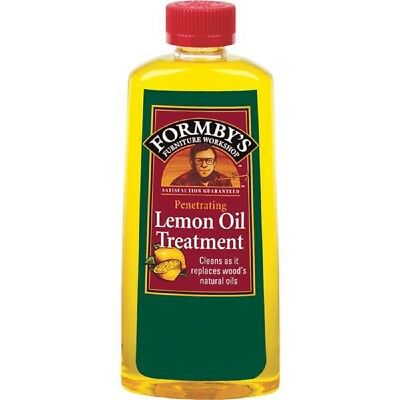 Formby's Lemon Oil Wood Surface / Furniture Cleaner Treatment 8 OZ 30015