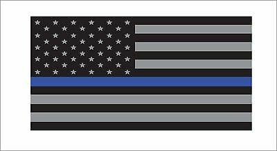 Support Police USA Flag Blue Line 2nd Amendment Sticker Decal Lives Matter