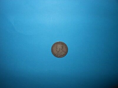 1919 Canada 50 Cents Silver Coin, Nice Condition