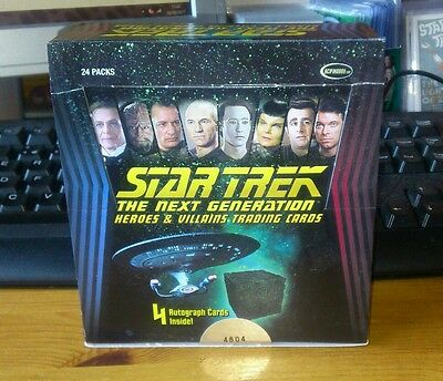 Star Trek TNG Heroes & Villains Base Set Only