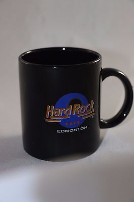 Hard Rock Cafe Coffee Mug Edmonton Banaux Canada
