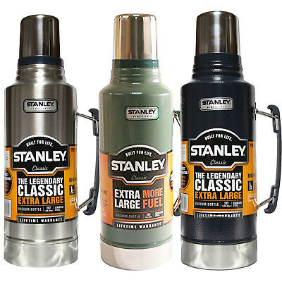 Stanley Classic Xl Flask 1.9L Stainless Steel Vacuum Bottle Thermos