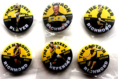 "RICHMOND BADGES ""THE SERIES"" CLASSIC 57MM Size- NEW DESIGN"