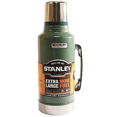 Stanley Classic Xl Flask  Stainless Steel Vacuum Bottle 1.9L Thermos Green
