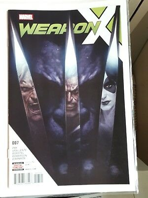 Weapon X #7, 2nd app. Weapon H, 9.8
