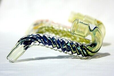 Collectible Clear Glass Saxophone Tobacco Smoking Pipe 1 3 6 12 lot - GP6422