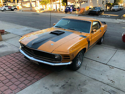 1970 Ford Mustang Boss 302 1970 Mustang Boss 302 Native Californian with Original Engine and Paint