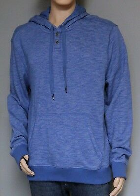 Calvin Klein Jeans Co Men s Pull Over Hoodie Blue Hooded Sweatshirt Nwt New 68b59a1be