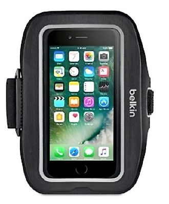 Belkin Sport-Fit Pro Armband for Apple iPhone 7 - Black - Workout Armband