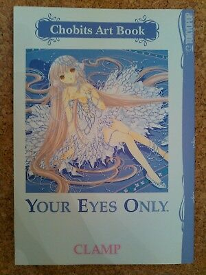 Chobits Art Book For Your Eyes Only by Clamp 1st paperback printing TokyoPop