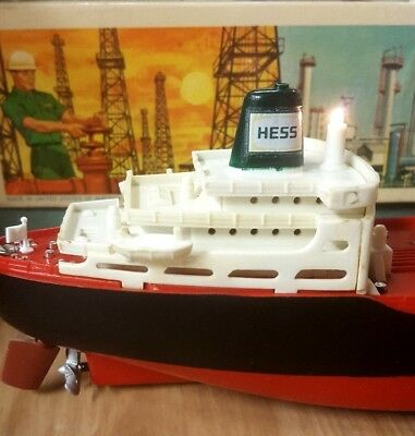 Hess Voyager Tanker Ship Working Condition Clean Christmas Card,etc See Pictures