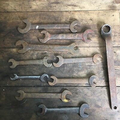 2.9kg of Dodgy Spanners - Most Unmarked - Old Vintage Tools #214