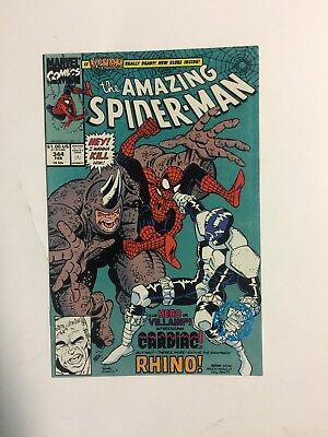 Amazing Spider-Man #344 Marvel 1991 (1st App. of Cletus Kasady who is CARNAGE)