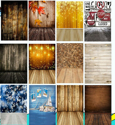 Photography Background 3x5 4x5 Vinyl Wood Board Multicolor Color Photo Backdrops