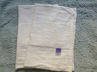 2 x Bambino Mio Reusable/Washable Nappies,  size 1. Up to 7kg