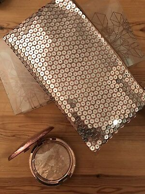 MAC Cosmetics Snow Ball Face Bag Peach Limited Edition NO BRUSH INCLUDED