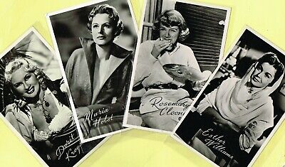 TAKKEN - 1950s Film Star Postcards issued in Holland #AX1142 to #AX1360